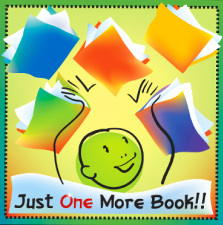Just One More Book blog logo entry