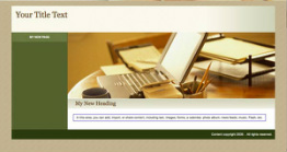 original godaddy Website Tonight template