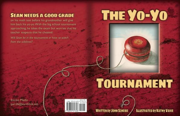 The Yo-Yo Tournament, cover, picture book designed by Siri Weber Feeney
