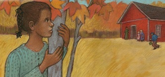 Fanny was a slave as a child and wished she could go to school, Helping Others: The Story of Fanny Jackson Coppin, illustrated by Siri Weber Feeney