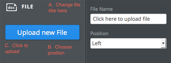 upload file dialog box