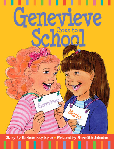 Genevieve Goes to School cover designed by Siri Weber Feeney