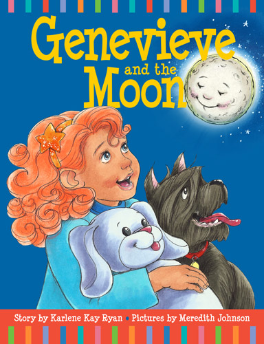 Genevieve and the Moon cover designed by Siri Weber Feeney