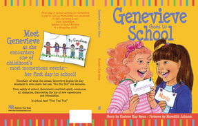 Genevieve Goes to School, cover design by Siri Weber Feeney