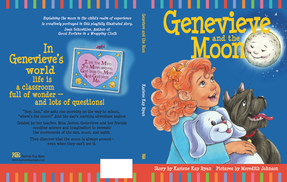 Genevieve and the Moon, cover design by Siri Weber Feeney