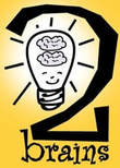 2Brains logo © by Siri Weber Feeney